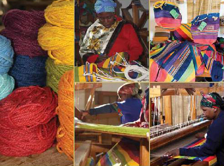 African Loom - Drakensberg craft studio