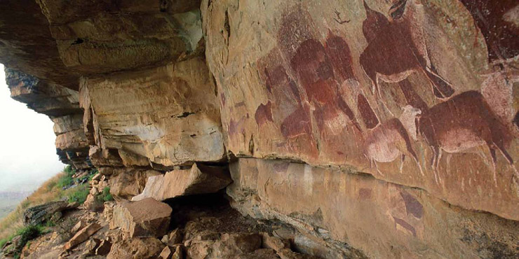 Kamberg Rock Art